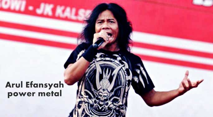 Arul Efansyah power metal